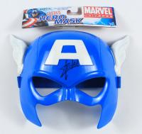 Stan Lee Signed Captain America Hero Marvel Mask (JSA COA) (See Description) at PristineAuction.com
