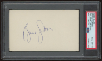 Bruce Sutter Signed 3x5 Index Card (PSA Encapsulated) at PristineAuction.com