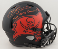 """Mike Alstott Signed Buccaneers Full-Size Eclipse Alternate Speed Helmet Inscribed """"Fire Those Cannons!"""" (Beckett Hologram) (See Description) at PristineAuction.com"""