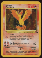 Moltres 1999 Pokemon Fossil Unlimited #12 HOLO at PristineAuction.com