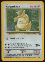 Kangaskhan 1999 Pokemon Jungle #5 HOLO at PristineAuction.com