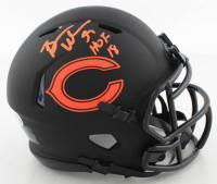 "Brian Urlacher Signed Bears Eclipse Alternate Speed Mini-Helmet Inscribed ""HOF 18"" (Beckett COA) at PristineAuction.com"