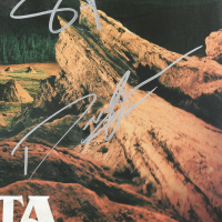 "Greta Van Fleet ""Anthem of the Peaceful Army"" Vinyl Record Album Cover Band-Signed by (4) with Josh Kiszka Jake Kiszka, Sam Kiszka & Danny Wagner (Beckett LOA) (See Description) at PristineAuction.com"