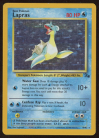 Lapras 1999 Pokemon Fossil #10 HOLO at PristineAuction.com