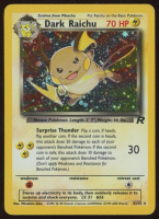Dark Raichu 2000 Pokemon Team Rocket Unlimited #83 HOLO R at PristineAuction.com