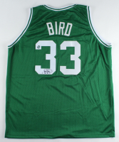 Larry Bird Signed Jersey (Bird Hologram) at PristineAuction.com