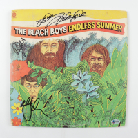 "Mike Love, Al Jardine & Bruce Johnston Signed The Beach Boys ""Endless Summer"" Vinyl Record Album (Beckett LOA) (See Description) at PristineAuction.com"