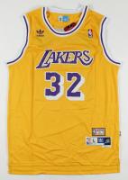 Magic Johnson Signed Lakers Jersey (PSA COA) at PristineAuction.com