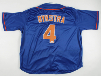 "Lenny Dykstra Signed Jersey Inscribed ""W.S.C"" (JSA COA) at PristineAuction.com"