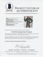 "Arnold Schwarzenegger Signed ""The Terminator"" 11x14 Photo (Beckett LOA & PSA Hologram) at PristineAuction.com"