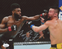 "Aljamain ""Funk Master"" Sterling Signed UFC 8x10 Photo (JSA COA) at PristineAuction.com"