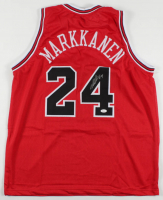 Lauri Markkanen Signed Jersey (JSA COA) at PristineAuction.com