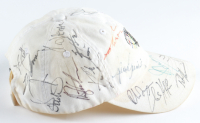 World Gold Championship Hat Signed by (23) with Charl Schwartzel, Rickie Fowler, Luke Donald, Justin Rose, Adam Scott (Beckett LOA) (See Description) at PristineAuction.com