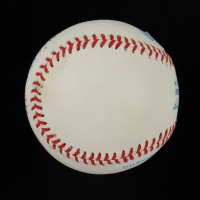Mickey Mantle Signed OAL Baseball in Display Case (Beckett LOA) (See Description) at PristineAuction.com