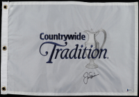 Jack Nicklaus Signed Countrywide Tradition Pin Flag (Beckett LOA) at PristineAuction.com