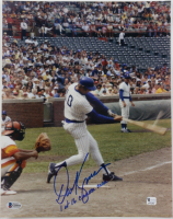 "Dave Kingman Signed Cubs 11x14 Photo Inscribed ""1 of 16 Career Grand Slams"" (Beckett COA) at PristineAuction.com"