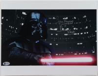 """David Prowse Signed """"Star Wars"""" 11x14 Photo Inscribed """"Is Darth Vader"""" (Beckett COA) at PristineAuction.com"""