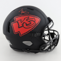 Tyreek Hill Signed Chiefs Full-Size Authentic On-Field Eclipse Alternate Speed Helmet (Beckett COA) at PristineAuction.com