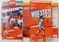"""Michelle Akers Signed Wheaties Cereal Box Inscribed """"1999 World Champs"""" (Beckett COA) at PristineAuction.com"""