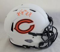 "Brian Urlacher Signed Bears Full-Size Authentic On-Field Lunar Eclipse Alternate Speed Helmet Inscribed ""HOF 2018"" (Beckett COA) at PristineAuction.com"