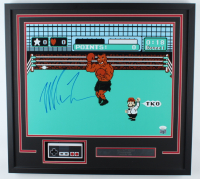 """Mike Tyson Signed """"Punch-Out!!"""" 23x25 Custom Framed Photo Display with Replica Controller (JSA COA) at PristineAuction.com"""