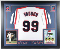 Charlie Sheen Signed 35x43 Custom Framed Jersey (PSA COA) (See Description) at PristineAuction.com