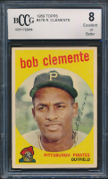 Roberto Clemente 1959 Topps #478 (BCCG 8) at PristineAuction.com