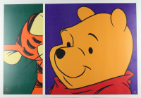 "Set of (2) LE 1997 Walt Disney 23.5x23.5 Lithographs with ""Winnie the Pooh"" and ""Tigger"" (See Description) at PristineAuction.com"