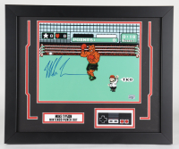 "Mike Tyson Signed ""Punch-Out!!"" 19x22.5 Custom Framed Display with Original NES Controller (Fiterman Sports Hologram) at PristineAuction.com"