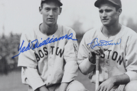 Ted Williams & Bobby Doerr Signed Red Sox 16x20 Photo (Williams COA) (See Description) at PristineAuction.com