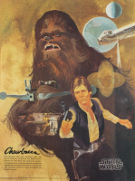 """Star Wars"" Vintage 1977 Coca Cola 18x24 Poster at PristineAuction.com"