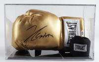Julio Cesar Chavez Signed Everlast Boxing Glove with Display Case (PSA COA) at PristineAuction.com