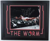 Dennis Rodman Signed Bulls 18x22 Custom Framed Photo Display (JSA COA & Fiterman Hologram) (See Description) at PristineAuction.com