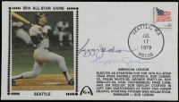 Reggie Jackson Signed Yankees 50th All-Star Game 1979 FDC Cachet (JSA COA) at PristineAuction.com