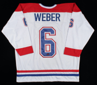 Shea Weber Signed Jersey (Weber COA) at PristineAuction.com