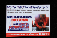 Shea Weber Signed Jersey (Weber COA) at PristineAuction.com