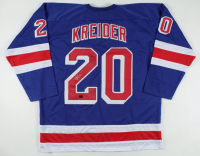 Chris Kreider Signed Jersey (Kreider COA) at PristineAuction.com