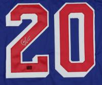 Chris Kreider Signed Jersey (Kreider COA) (See Description) at PristineAuction.com