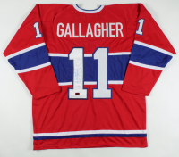 Brendan Gallagher Signed Jersey (Gallagher COA) at PristineAuction.com