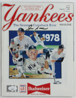 "Joe Collins Signed 1988 Yankees ""The Greatest Comeback Ever"" Magazine (JSA COA) at PristineAuction.com"