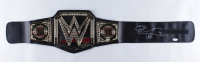 "Shawn Michaels Signed WWE World Heavyweight Wrestling Championship Belt Inscribed ""HBK"" (JSA COA) at PristineAuction.com"