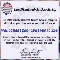 "Bobby Hull Signed Blackhawks Logo Hockey Puck Inscribed ""HOF 1983"" (Schwartz COA) at PristineAuction.com"