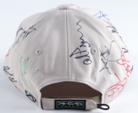 World Gold Championship Hat Signed by (30) with David Toms, Streve Stricker, Sergio Garcia, Phil Mickelson, Matt Kuchar (Beckett LOA) at PristineAuction.com