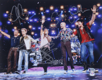 Journey 11x14 Photo Band-Signed by (5) with Neal Schon, Arnel Pineda, Steve Smith, Jonathan Cain, & Ross Valory (Beckett LOA) at PristineAuction.com