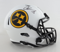 Chase Claypool Signed Steelers Full-Size Lunar Eclipse Alternate Speed Helmet (Beckett Hologram) (See Description) at PristineAuction.com
