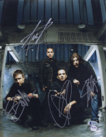 Creed 11x14 Photo Band-Signed by (4) with Brian Marshall, Scott Phillips, Scott Stapp & Mark Tremonti (Beckett LOA) at PristineAuction.com