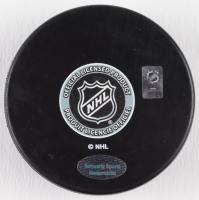 "Bryan Trottier Signed Penguins Logo Hockey Puck Inscribed ""HOF 97"" (Schwartz COA) at PristineAuction.com"