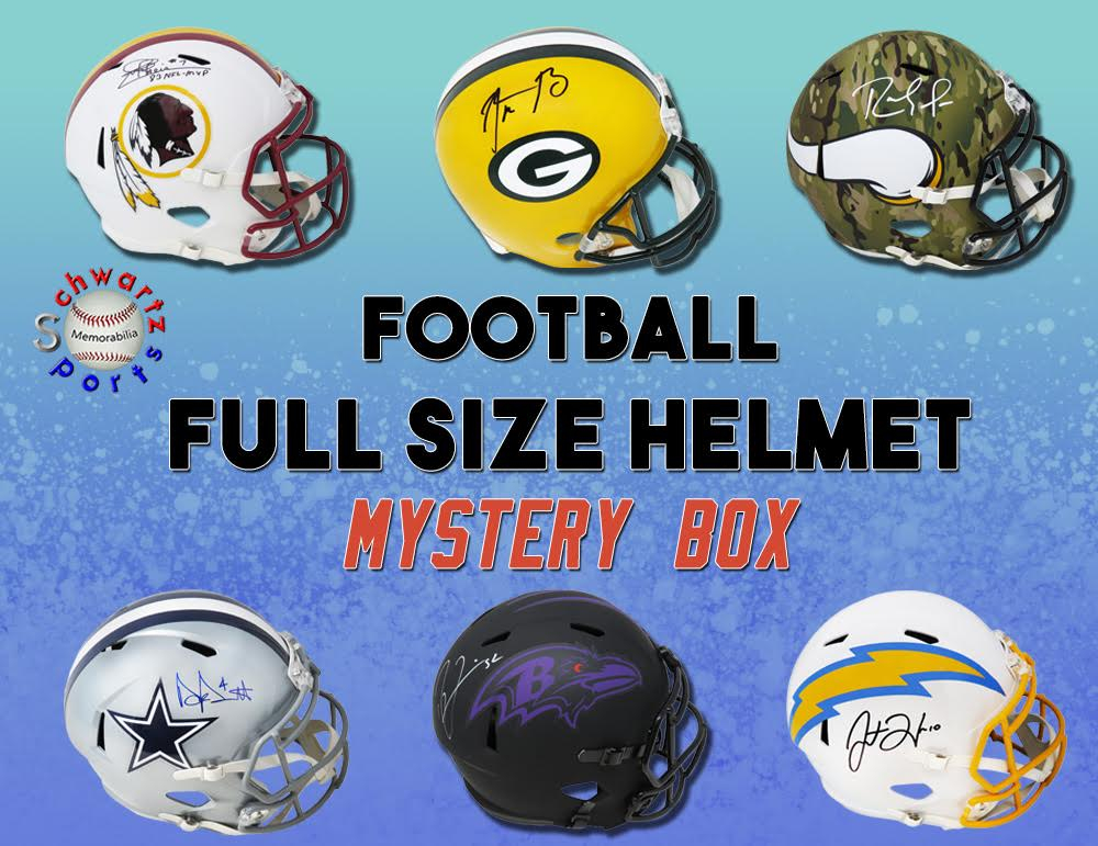Schwartz Sports Full-Size Football Helmet Mystery Box Series 20 (Limited to 150) at PristineAuction.com