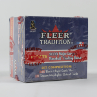 2000 Fleer Tradition Update Baseball Hobby Box with (150) Cards at PristineAuction.com