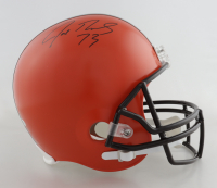 Joe Thomas Signed Browns Full-Size Helmet (Beckett Hologram) at PristineAuction.com
